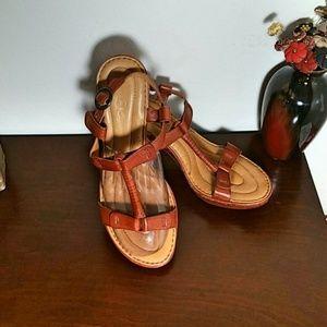 Born Crown Leather Acala II Sandals
